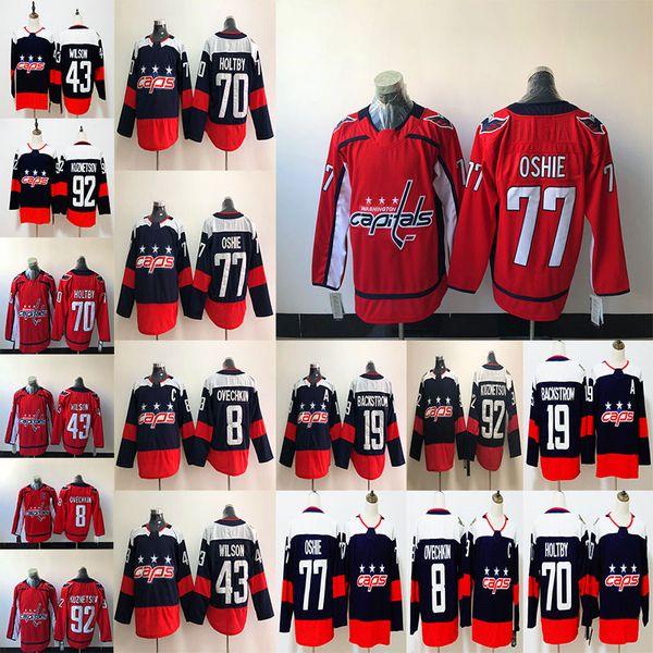 2019 New Washington Capitals 8 Alex Ovechkin 43 Tom Wilson 77 Oshie 19 Nicklas Backstrom 70 Braden Holtby 92 Evgeny Kuznetsov Jersey