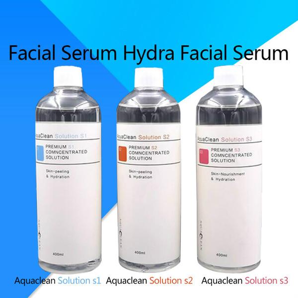 2019 profe ional hydrafacial machine u e aqua peeling olution 400 ml per bottle aqua facial erum hydra facial erum for normal kin