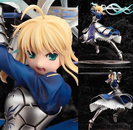 2018 GSC Anime Fate Stay Night Saber Lily Excalibur PVC Action Figure Game Figure Model Collection Figure Toy Brinquedos