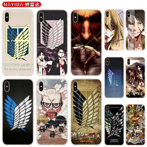 Japanese Anime New Attack On Titan iphone case