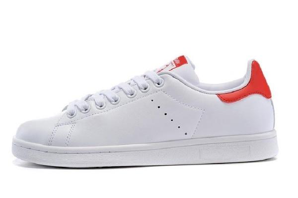 Venta Caliente 2019 Nuevos Zapatos Stan Smith Barato Mujeres Hombres Zapatillas De Deporte Casual Superestrellas De Monopatín Punzonado Blanco Chicas