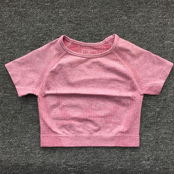 Pink Short Top