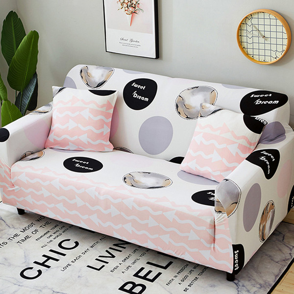 Excellent Pink Sweet Dream Sofa Covers Elastic Slipcovers Slip Resistant Stretch Couch Cover Loveseat Corner Towel Sofa Furniture Cover Tablecloth And Chair Uwap Interior Chair Design Uwaporg