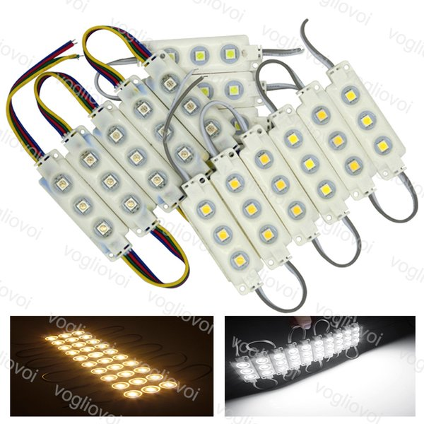 LED-Module SMD 5050 Store Frontfenster Licht Zeichen Lampe Einspritzung Weiß IP68 Wasserdichte Streifen Licht Led Hintergrundbeleuchtung Super Helligkeit DHL