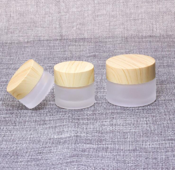 Refillable Bottles Cosmetics Jar Box Makeup Face Cream Lotion Cosmetic Storage Pot Container - Empty Plastic Transparent Case