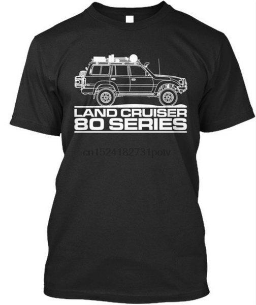 Enfriar Land Cruiser 80 Serie superior camiseta de la camiseta