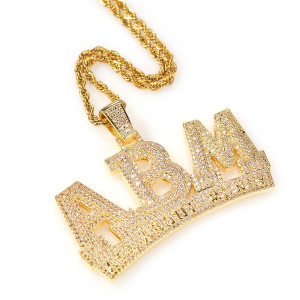 """Gold with 24"""" Rope Chain"""