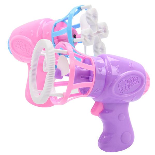 Bubble Big gants pour enfants de la machine à bulles ventilateur électrique Pistolet à bulles soufflant automatiquement de l'eau jouets