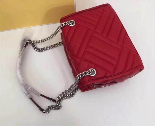 Luxury brand black leather handbag designer women fashion handbag Lady shoulder bag Messenger Purse 3319