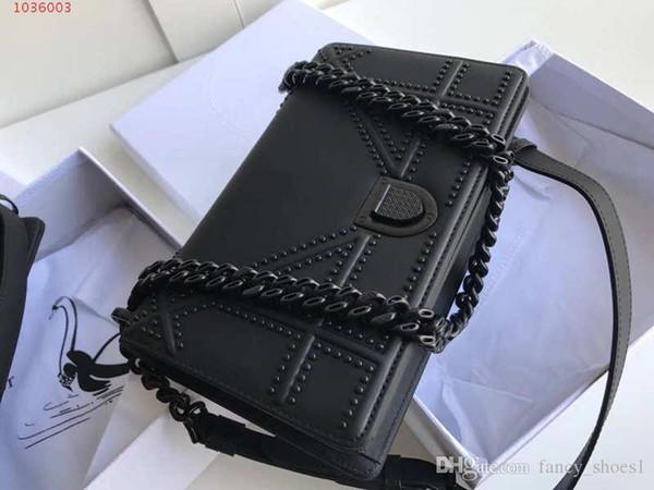 Yeni moda küçük kare çanta süper güçlü zincir tek omuz asılmış siyah yeni çizgili çıkartması kadın omuz çantası