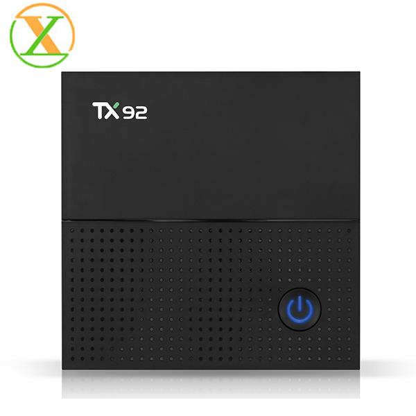 TX92 Octa Core Android 7.1 Amlogic S912 TV BOX 3G 32G 2.4G 5G WiFi Bluetooth android tv box