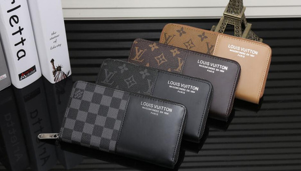 2019 hot sell FREE shipping New Brand Women Wallet Purse Fashion Animal pattern High quality Leather Men Short Wallet Card Holders C132