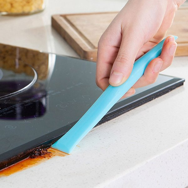 ousehold Cleaning Tools Accessories Squeegees Kitchen Bathroom Stove Dirt Decontamination Scraper Home Cleaning Tool Supply Accessories D...