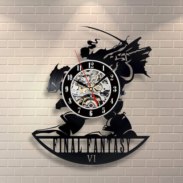 Final Fantasy Oyunu Asla Bir Bellek Olamayacağım Final Fantasy Art Retro Duvar Saati