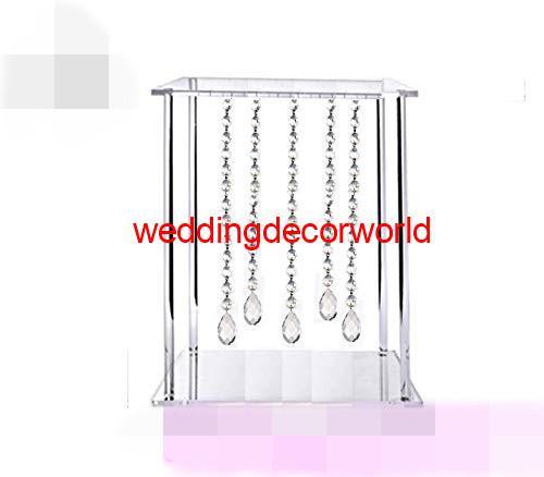New Crystal Long Stem Diamond Teelichthalter Kristall Mittelstücke Für Hochzeitstafel best10006