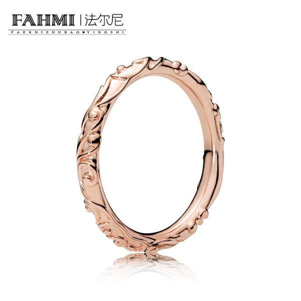 EDELL 100% стерлингового серебра 925 новый список 187690 Роза Regal красоты кольцо оригинальные ювелирные изделия очаровательные женщины праздничный подарок