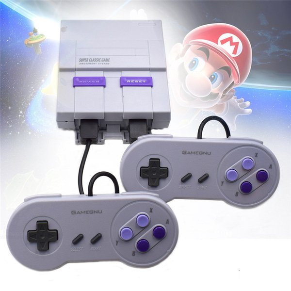 Super Classic SFC Handheld Mini Game Consoles 2019 Newest Entertainment System For 660 SFC NES SNES Games Console with box hot sale