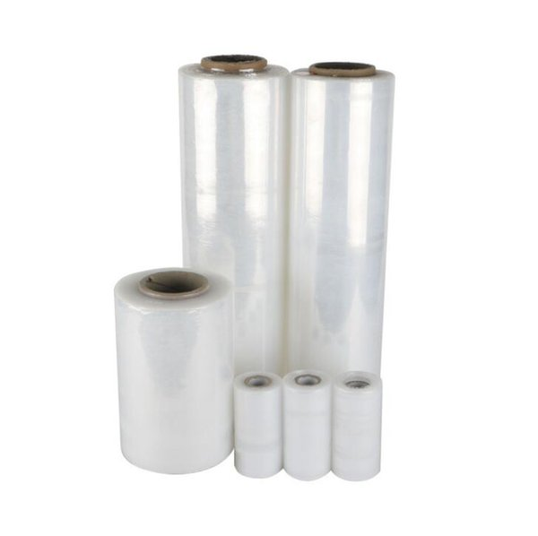 PE packaging film Hand stretch packaging film protection plastic transparent stretch film