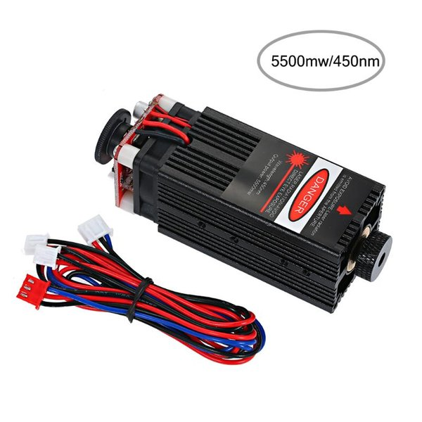 top popular Laser Head laser module 550mw 450nm Head Focusable for CNC Engraving DIY Carving Engraving Machine Engraver Accessory 2021
