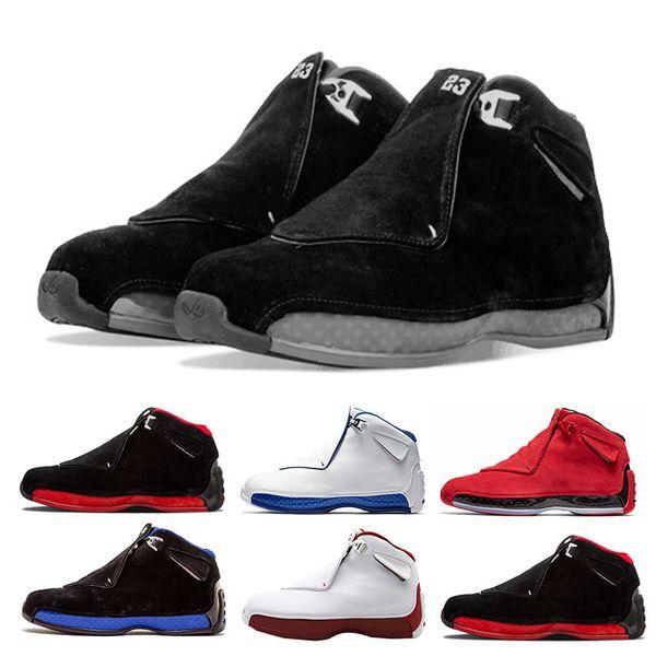 Neue Ankunft 18 s Sport Royal Männer Basketball Schuhe Toro Gym Rot Wildleder Weiß Blau Schwarz 18 s Herren Sportschuhe Trainer Sneaker Uns 8-13