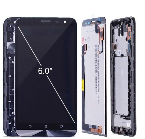 6.0'' ORIGINAL 1920x1080 IPS LCD For ZenFone 2 Laser ZE600KL LCD Display Matrix + Touch Screen Digitizer Replacement Parts