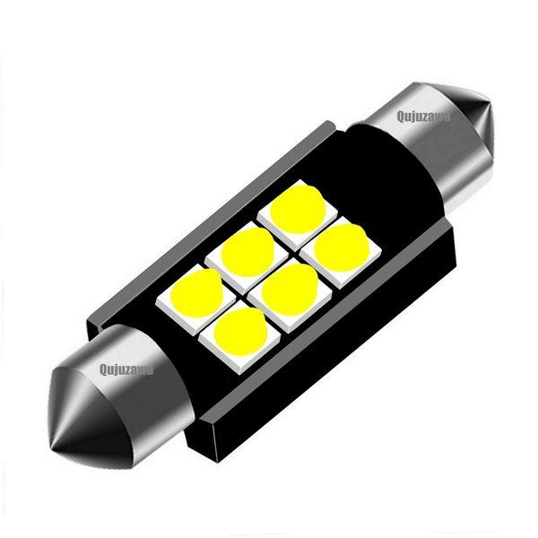 10 pcs 31mm 36mm 39mm 41mm Super Brilhante CREE Chips LED Festoon Lâmpada C5W Cúpula de Luz Do Carro Canbus Nenhum Erro Auto Lâmpada de Leitura Interior