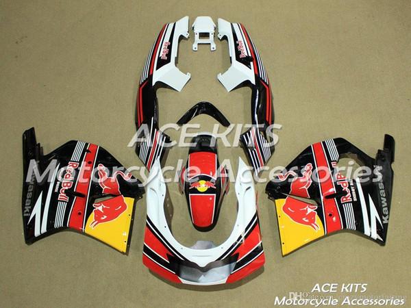 ACE KITS Carenatura moto Per KAWASAKI Ninja ZXR250S 1993 1996 Iniezione o Compressione Carrozzeria Una varietà di colori NO.V561