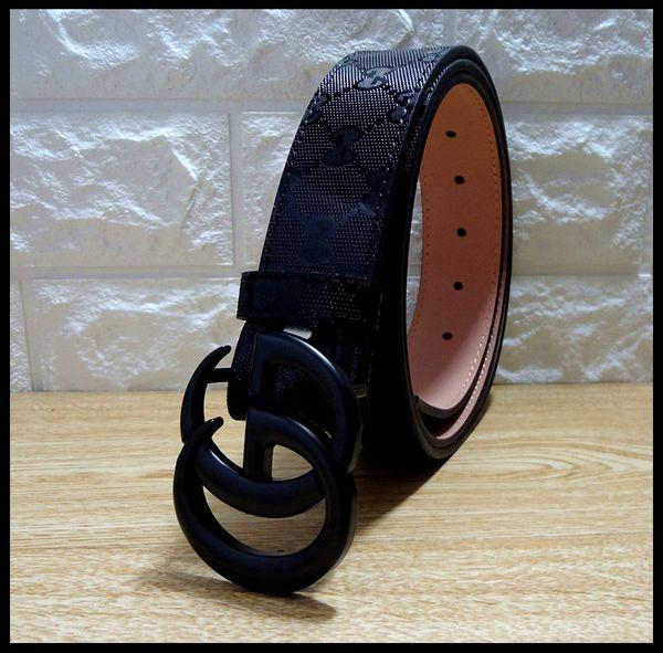 2019 designer Green stripes and embroidered honeybee Belt Beautiful belt buckle Jeans belts For men Women