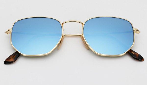 001 / 9O oro / azul cielo espejo