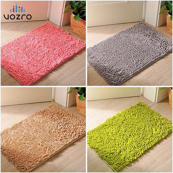 [Tamaños múltiples] VOZRO Alfombra de baño alfombras con memoria para el baño gracioso bañera Habitación sala de estar puerta escaleras baño pie alfombras de piso