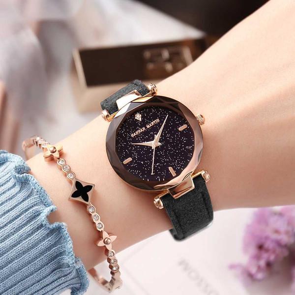 Женщины Часы R Роскошные Леди Наручные Часы Кожа Мода Причинно Платье Часы Женщины Кварцевые Часы Браслет Часы