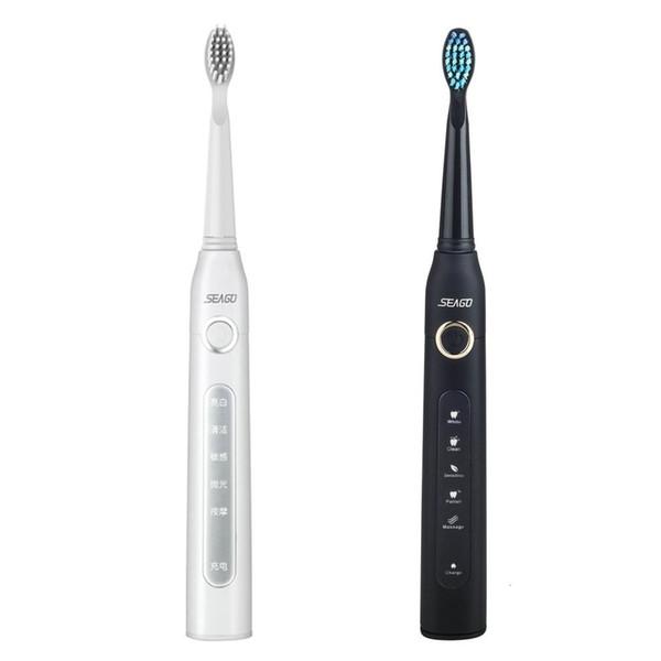 Cepillo de dientes eléctrico ultrasónico inteligente Cepillo de dientes Tipo de rotación impermeable Higiene Oral Care Dental b pro teethbrush