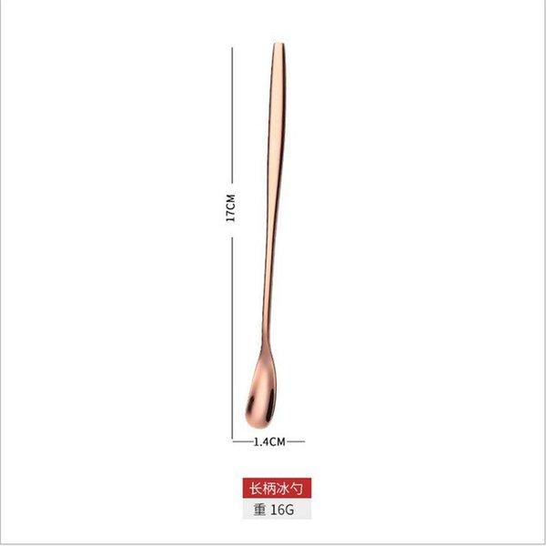 oro rosa 17 centimetri