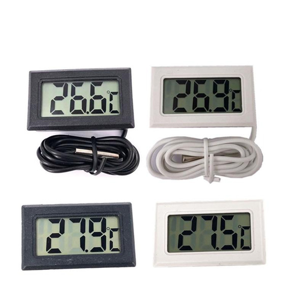 top popular LCD Digital Thermometer for Freezer Temperature -50~110 degree Refrigerator Fridge Thermometer 2021