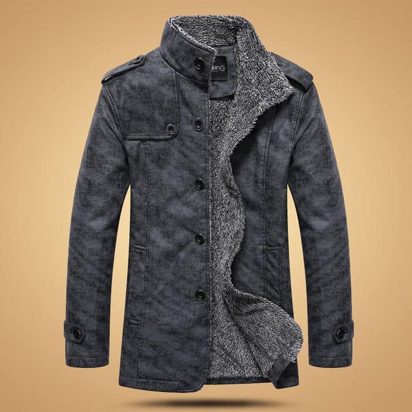 Fashion Men 'S Winter Jacket Men Pu Leather Motorcycle Warm Jackets Plus Velvet Windbreaker Male Casual Long Coat 4xl Male