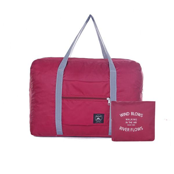 2018 Nylon Sacos De Viagem Mulheres Leve Grande Capacidade Duffle Bag Organizador Embalagem Cubos Saco de Bagagem de Viagem Dobrável Para Homens