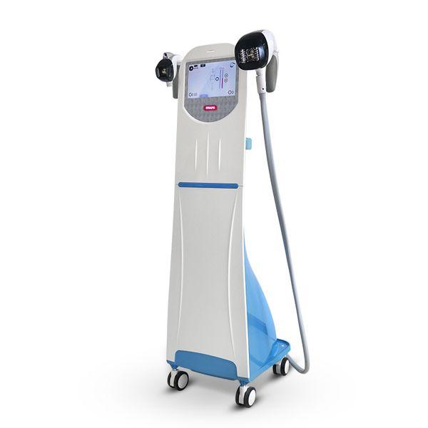 2 Handles effective vacuum cavitation system slimming machine fat burner with roller massage weight loss machine