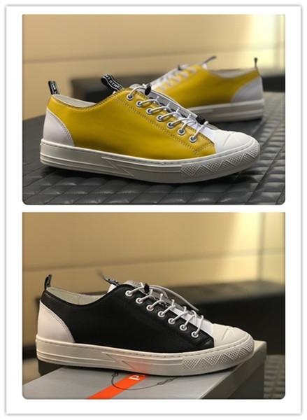 2019 Mens designer shoes Shoe Beautiful Platform Casual Sneakers Luxury Designers Shoes Leather Solid Colors Dress Shoe A052