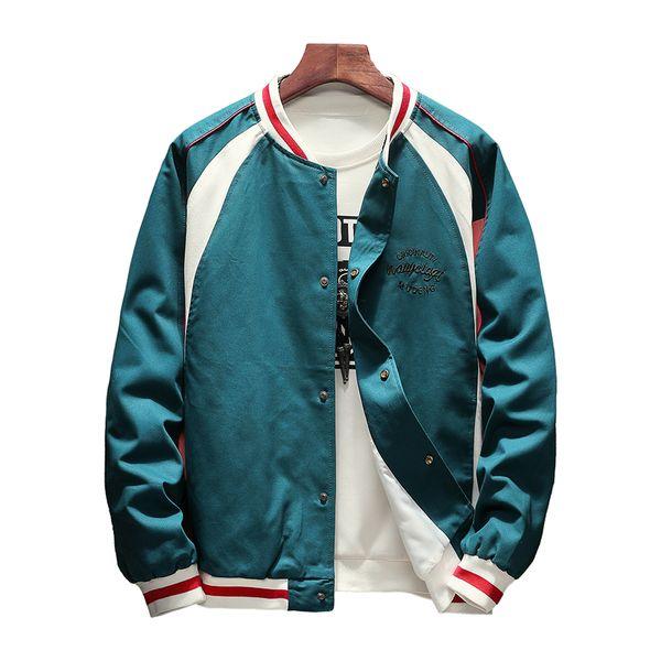Bomber Jackets Women 2019 Spring Causal Basic Jackets Windbreaker Embroidery Letter Ladies Coat Zipper Lightweight Jacket Famale