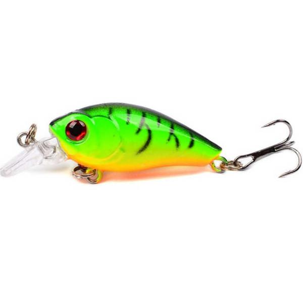 1pcs Mini Crankbait Topwater Fishing Lure 45mm 3.5g Artificial Japan Hard Wobblers Bait Artificial Trout Pike Carp Fishing