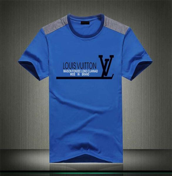 Марка лето футболка мужская повседневная с коротким рукавом хлопок топы тис печати питания мужчины футболка хип-хоп мужской Т-Шир 02
