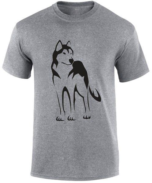 Siberian Husky Dog Breed Owner Slogan Funny T-Shirt T Shirt Top Gift Vintage