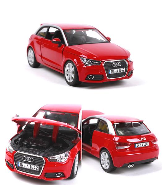 Acheter Burago Modèle De Voiture En Alliage Voiture De Sport Audi A1 Simulation Haute à Léchelle 124 Pour Cadeau Danniversaire Pour Enfant