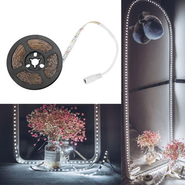 Led Vanity Mirror Lights LED Strip Kit 13ft/4M 240 LEDs Make up TV Background SMD2835 LED Strip Light Vanity Mirror for Makeup Table Set