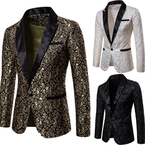 19ss mens blazers Corduroy Men Casual Blazers and Jackets Fashion Office Jacket New Mens Designer Blazer men s wedding suits