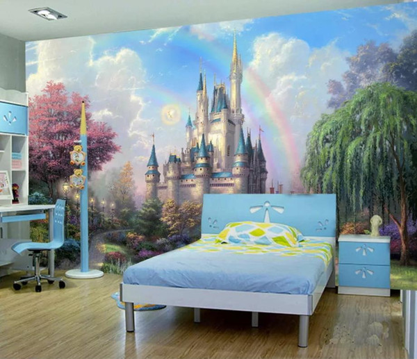 Custom Starry hand drawn abstract Mural Wallpaper Living Room Home Decor wall paper for kids room mural wallpaper sticker