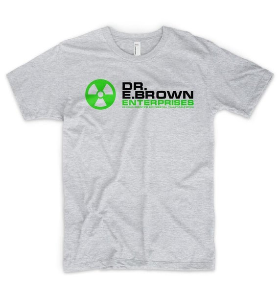 Dr Emmett Brown Enterprises T Shirt Logo Back To The Future Marty McFly Cool Casual pride t shirt men Unisex Fashion tshirt