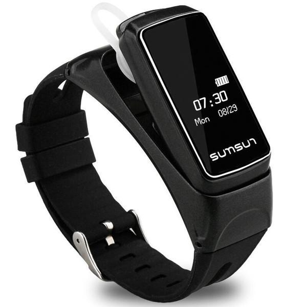 B7 Fashion Business Affairs Motion Healthy Intelligence Conversation Wrist Watch Motion Bluetooth Headset Intelligence Bracelet