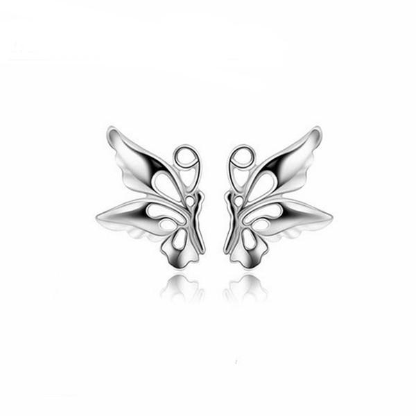 Boucles d'oreilles pour femme oreille manchette 925 plaque en argent Sterling sur déclaration de cuivre bijoux de mode nouvelle boucle d'oreille goujons Pack boucle d'oreille coréenne