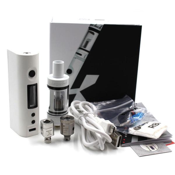 E cigarette box mod Shisha Pen Hookah 50W Starter Kit 510 Metal Body Electronic Cigarette Vape Electronic Kits
